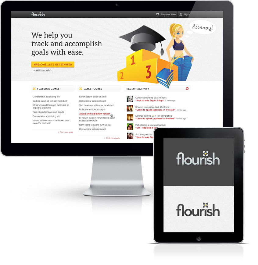 flourish.fm Website