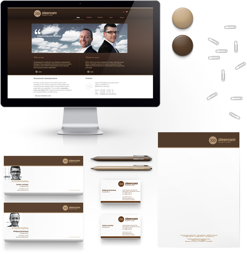 steercom Management Consulting Identity
